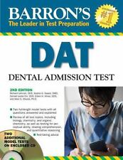 Barron's DAT: Dental Admissions Test [With CDROM] (Mixed Media Product)