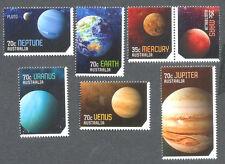 Australia-Solar System-Planets-Space - mnh set (7) 2015