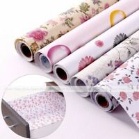 2M Self-adhesive Wallpaper Moisture Proof Shelf Drawer Liner Decor Wall Sticker