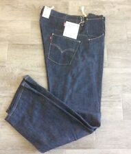 LEVIS ENGINEERED RAW JEANS LOT #001 STANDARD FIT TWISTED JEANS BUTTON UP W38 L32