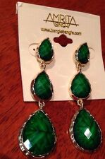 Brand New Amrita Singh $99 High Quality Earrings With  Tags