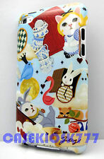 for iPod touch 4th 4 th itouch kitten cat kitty case face bunny bird heart hard
