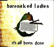 BARENAKED LADIES It's All Been Done LIVE & REMIX  Australia CD Single USA Seller