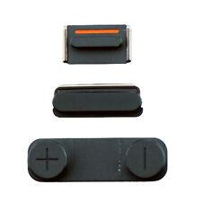 Genuine iPhone Slate Grey 5S Key Set - Power/Lock Mute & Volume Button Original
