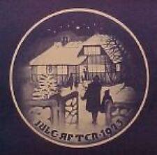 1973 Bing & Grondahl Christmas Plate Country Christmas