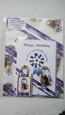 Derby Football Club regalo avvolgimento Set di carta, buste, carta da regalo, Etichetta da regalo