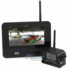 "Boyo Vision 2.4Ghz Wireless Rear View Night Vision Camera with 7"" Color Monitor"