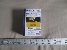 1 New Brady Label Cartridge M21 375 595 Yl Blackyellow Vinyl 38 X 21 Bmp21