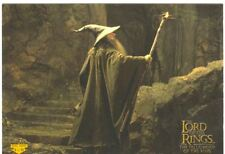Lord Of The Rings FotR Puzzle Sticker Chase Card 8 Of 10