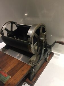 EDISON ROTARY COPYING MIMEOGRAPH No75  A.B Dick Company Antique Copy Machine Vtg