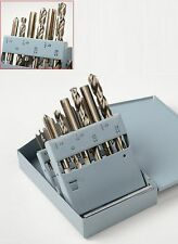 18 Pc HSS Drill Bit And Tap UNC/UNF Set Drilling Power High Speed Steel Tools