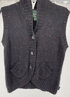Women's Woolrich Hooded Sweater Vest Size M