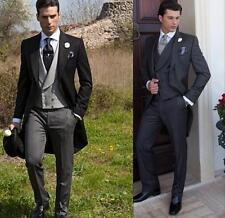 2016 Groom Tuxedos Wedding Suits Bridegroom Suits Groomsman Suits Mens Tailcoats