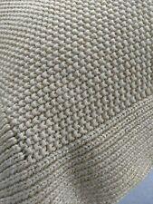 Ralph Lauren DEAUVILLE Gold Metallic Throw Pillow 18x18 Woven Down/Feather