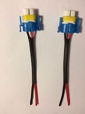 H11  H9  H8 Ceramic Bulb Socket Connector x 2 SPOT / FOG LIGHT, CHEAPEST ON EBAY
