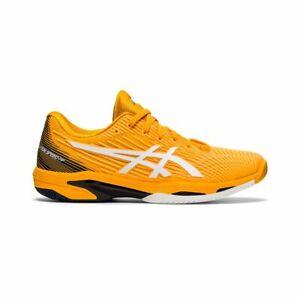 Asics Solution Speed FF 2 Men's Tennis Shoe (Amber/White) Tennis / Pickleball