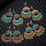 Vintage Ethnic Bohemian Drop Dangle Women Beads Tassel Earrings Ear Stud Jewelry