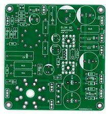 Single ended 8W amplifier EF86+EL34 PCB DIY