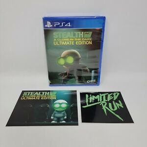 Stealth Inc.: A Clone in the Dark Ultimate Edition (Sony PlayStation 4 PS4 2016)