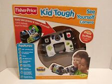 Fisher Price Kid Tough W1537 See Yourself Digital Camera Black NEW SEALED
