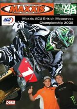 Maxxis ACU British Motocross Championship - Official review 2008 (New DVD) MX
