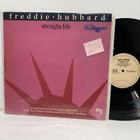 Freddie Hubbard Straight Life- CTI 8022 EX-/VG+ 1982 Jazz LP
