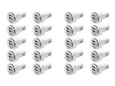 20x Dual USB Port Car Charger Adapter 2.1A For iPhone 5 6 7 LG HTC Samsung Phone