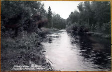 1940 Indian River, MI Realphoto Postcard: Sturgeon River - Michigan Mich