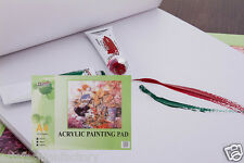 "24-Sheet Artist Painting Paper Pad AcrylicPaper Pad, 8.27"" x 11.69"" 24 Sheets A4"