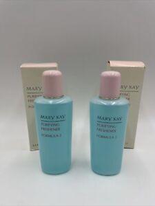 Mary Kay Purifying Freshener Formula 2 Two Pack(2) - 6.5 oz New Old Stock