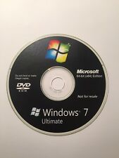 Microsoft Windows 7 Ultimate Full versions DVD 32/64-bit