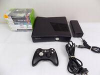 Xbox 360 Slim Console 250Gb + Wireless Controller + 10x Popular Games