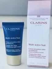 Clarins Multi-Active Nuit Fine Lines, Revitalizing Night Cream 0.5 oz/ 15 ml New