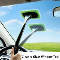 Glass Tool Easy Clean Window Cleaner Wash Wiper Cleaning Brush Car Windshield BH