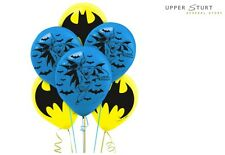 Batman Latex Balloons 6 Pack Party Supplies FAST N FREE DELIVERY