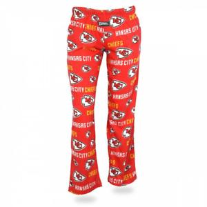 Zubaz NFL Women's Kansas City Chiefs Comfy Lounge Pants, Red