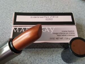 1 MARY KAY CREME LIPSTICK IN GINGERBREAD NEW IN  BOX