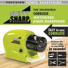 Electric Knife Sharpener Kitchen Knives Blades Drivers Swifty Cutlery Tool new a