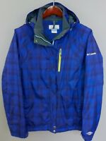 XII53 Women Columbia Omni-Tech Interchange Skiing Snowboarding Jacket XL / UK16