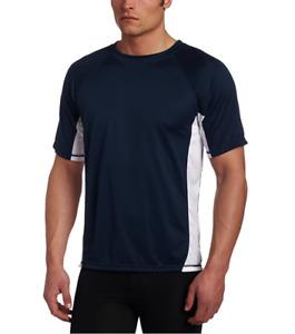 Kanu Surf Men's Rashguard UPF 50+ Swim Shirt Navy Size XL