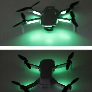 2x Luminous Stickers Night Flight Glowing Sticker skin for DJI Mavic Mini Drone