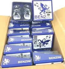 Wholesale Joblot x24 Pairs of Benzini Carlos Soft Crib Baby Boys Shoes In Blue