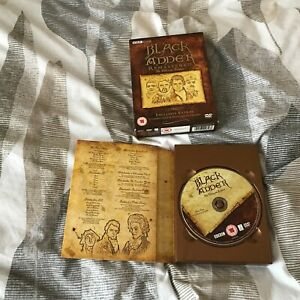 Blackadder DVD Box Set Complete Collection Series 1-4 & Interviews/Commentaries