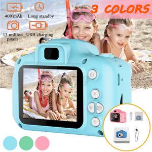 EU 2.0'' LCD 1080P Kinderkamera Digitalkamera für Kinder Geschenk Spielzeug~