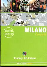 Map & Guide to Milan (Milano)- Italy, by Touring Club Italiano, TCI Italian Edit