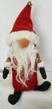 Primitive art doll,Christmas,collectibl e,Gnome,handmade,by Dumplinragamuffin