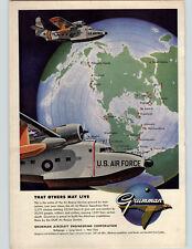 1955 Paper Ad COLOR Grumman Albatross Amphibians flown by USAF Air Rescue