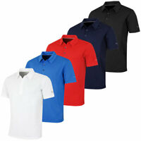 Puma Golf Mens Tech Cresting DryCell Ventilated Polo Shirt - 52% OFF RRP