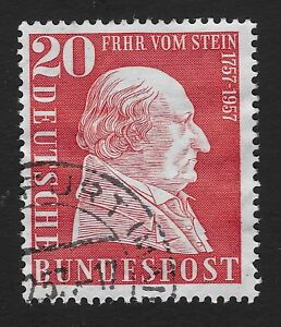 German Stamp 1957 The 200th Anniversary of the Birth of Baron vom Stein (BX)