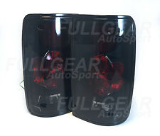 BLACK w/ LIGTH SMOKE LENS ATLEZZA STYLE TAIL LIGHTS FOR TOYOTA PICKUP 1989-1995